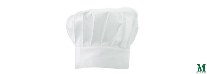 White chefs hat adult child