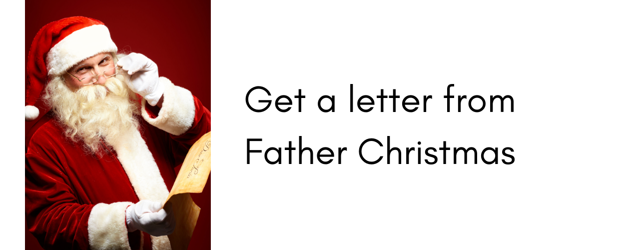 Things to do at Christmas – get a letter from Santa